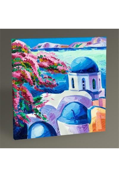 Tablo 360 Santorini Tablo 50X50