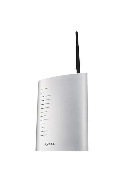 Zyxel P-2602HWL ADSL2+ Voip 4P. 125Mb+2FXS Kablosuz
