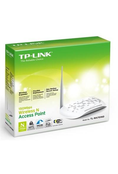 TP-LINK TL-WA701ND 150 Mbps N Kablosuz Çoklu-SSID/Client/Repeater/Bridge 5dBi Değiştirilebilir Antenli WPS Pasif PoE Destekli Evrensel Access Point