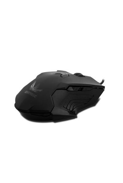Rampage DLM-500 Siyah Oyuncu Mouse (13542)