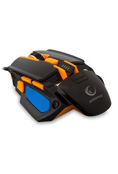 Rampage SMX-R4 Usb Siyah 4800 Dpi Makrolu Oyuncu Mouse
