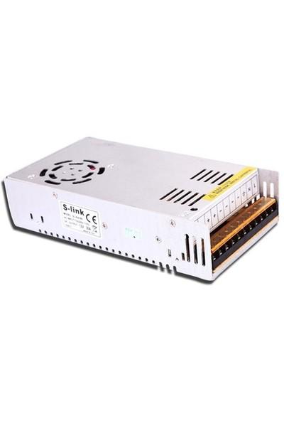 S-Link Sl-Ka380 12V 30A 380W Metal Kamera Güç Kaynağı