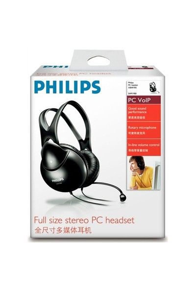 Philips SHM1900 Mikrofonlu Kulaküstü Kulaklık