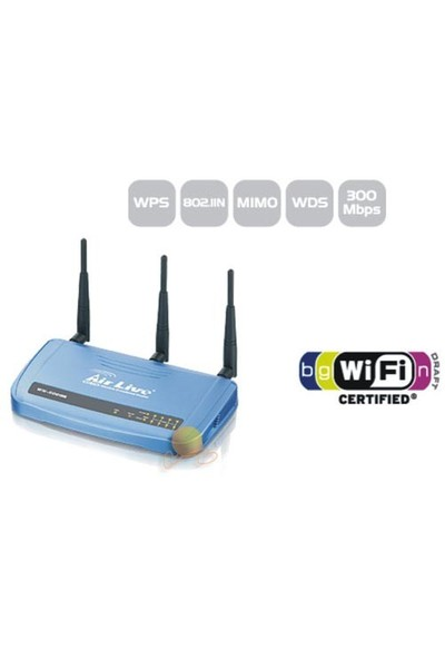 Airlive WN-5000R 300 Mbps 802.11n Kablosuz Router