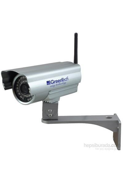 GreenTech GT-IP55HD Outdoor Wireless-N Kablosuz IP-HD Kamera