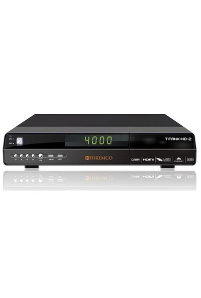 Hiremco Titanx HD 2 Dijital Uydu Alıcısı