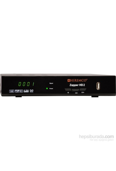 Hiremco Zapper HD 2 Full HD Uydu Alıcısı