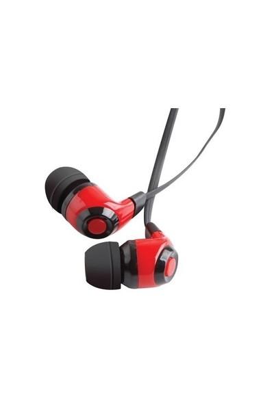 Snopy Sn-702 Kulak İçi Kırmızı Kulaklık