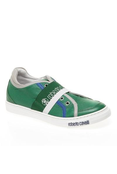Roberto Cavalli 32-33-34-35 Cm40571C Çocuk Ayakkabı Smeraldo/Grıgıo/Blue