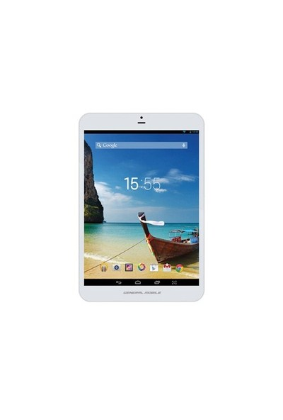 "General Mobile Discovery Tab8 8GB 7.85"" Beyaz 3G Tablet"