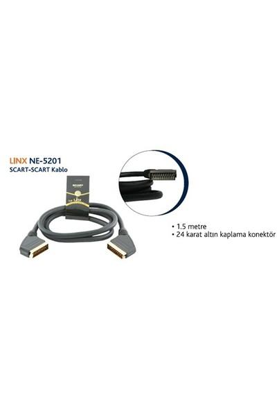 Linx Ne-5201 Scart-Scart Kablo (1,5 metre)