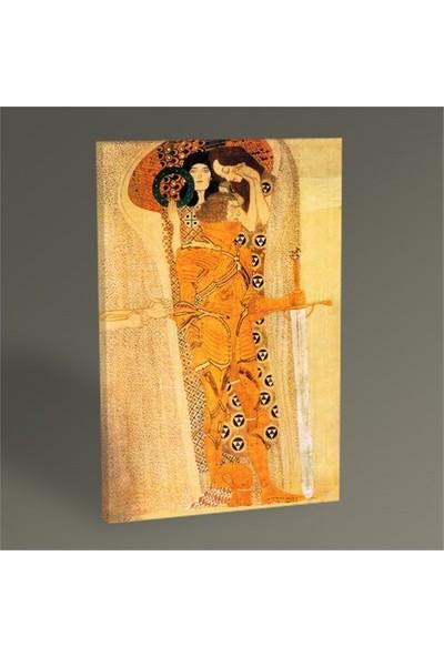 Tablo 360 Gustav Klimt Beethoven Freeze Tablo 105X70
