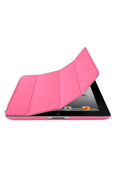 Romeca iPad 2/New iPad Pembe 2 in 1 Smart Cover