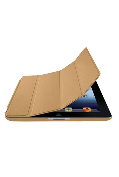 Romeca iPad 2/New iPad Krem 2 in 1 Smart Cover