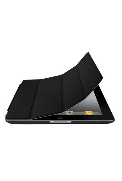 Romeca iPad 2/New iPad Siyah 2 in 1 Smart Cover
