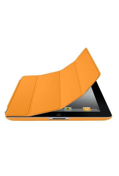 Romeca iPad 2/New iPad Turuncu 2 in 1 Smart Cover