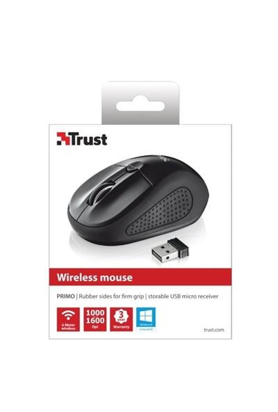 Trust Primo 20322 Siyah Kablosuz Mouse (210086815)
