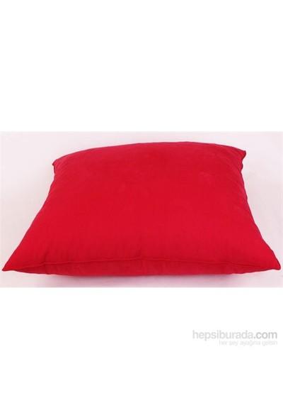 Yastıkminder Koton Kanvas Kırmızı Yer Minderi