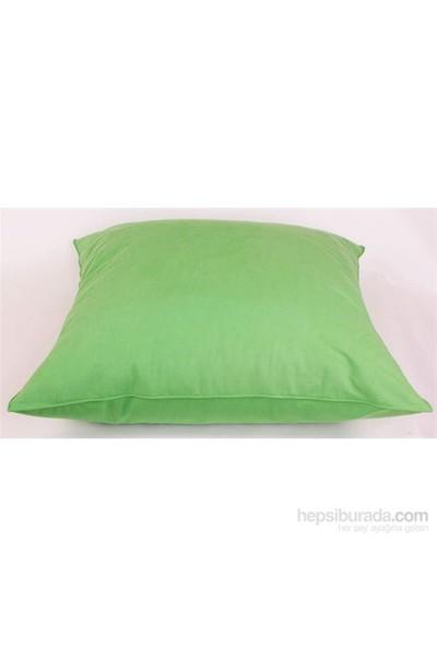 Yastıkminder Koton Kanvas Yeşil Yer Minderi