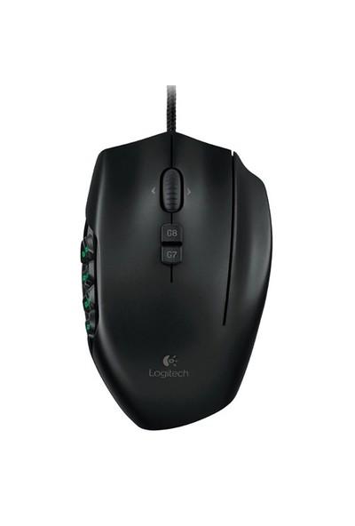 Logitech G600 MMO Siyah Oyuncu Mouse (910-003624)