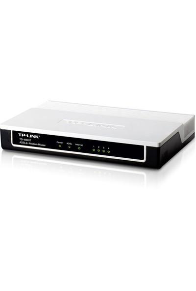 TP-LINK TD-8840T Kablolu 4 Ports Denetlenebilir IP Dual Firewall Destekli ADSL2+ Modem Router