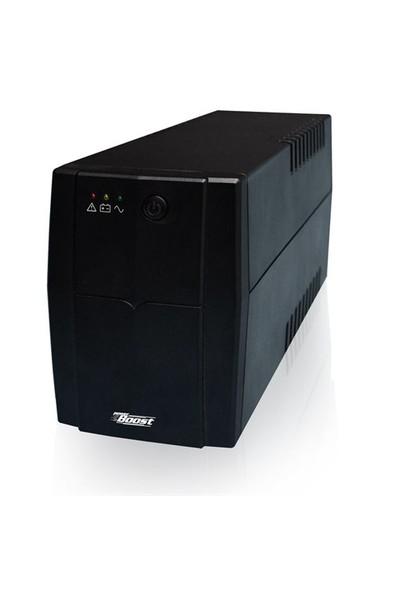 Power Boost B-1500VA 1500VA Line interactive UPS (UPS-B1500VA-01)