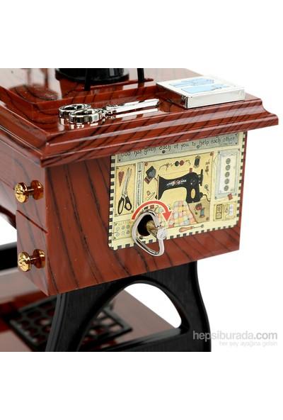 Dikiş Makinesi Müzik Kutusu