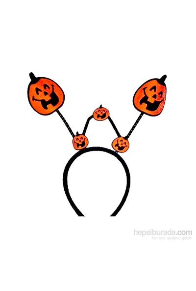 Halloween Balkabağı Parti Taç