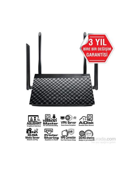 ASUS DSL-AC52U DualBand-Torrent-Bulut-DLNA-4G-VPN-ADSL-VDSL-FiBER-Modem Router