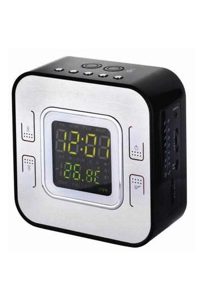 Premier Prc-95 Led Göstergeli Alarm Saatli Radyo