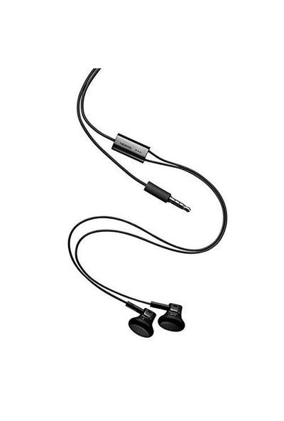 Nokia Wh-108 Orjinal Siyah Mikrofonlu Kulaklık