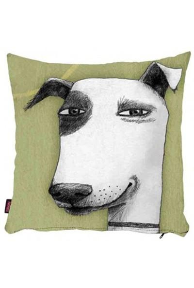 Bengü Accessories Köpek Desenli Dekoratif Yastık 11 40X40 Cm