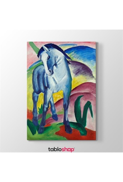 Tabloshop Franz Marc - Blue Horses Tablosu