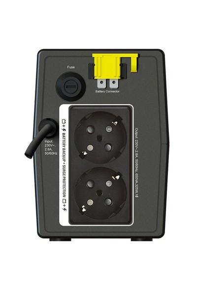Schneider APC BX650LI-GR 650VA Line Interactive UPS