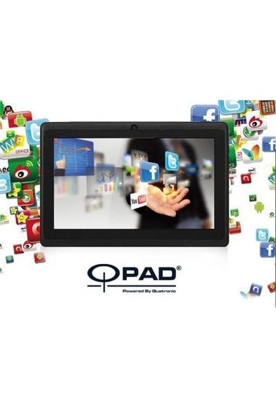 """Qpad Qpad7004sıyah Qpad Qpad7004 7"""" Dual Core 4Gb 512Mb 2Xcam Wi-Fi Android 4.4"""
