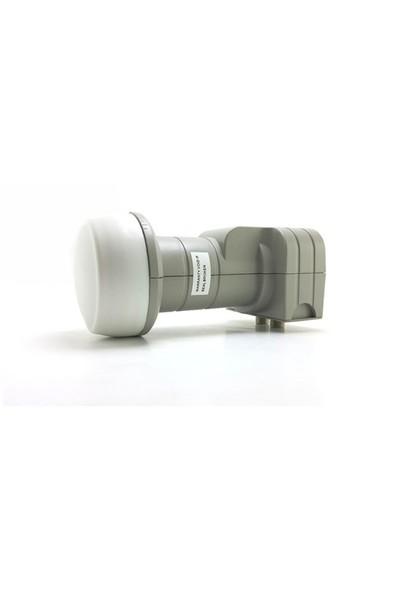 Fuba Twin Lnb 4K Full Hd Uyumlu Dek206