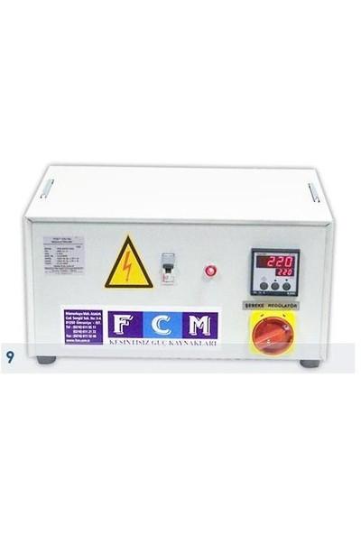 Fcm 1 Kva regülatör Monofaze Servo Elektronik Otom. Mikroişlemcili FSV 11-1