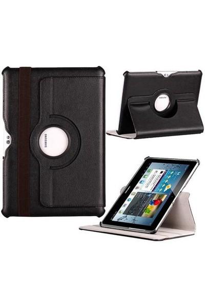 Romeca Samsung Galaxy Tab2 10.1 P5100 360° Dönebilen Siyah Kılıf 20264