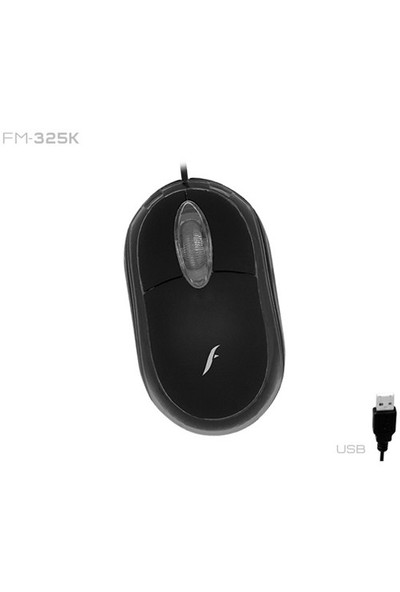 Frisby FM-325K Optik USB Siyah Mouse