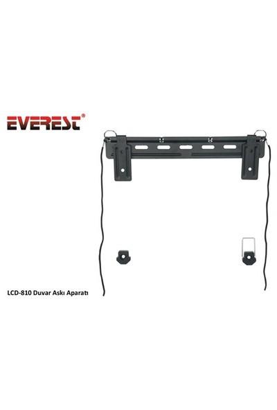 """Everest LCD-810 23"""" 42"""" Güvenlik Kilitli Kablo Tutuclu Duvar Askı Aparatı"""