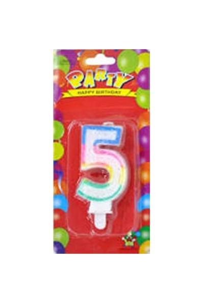 Party Rakam Mum 5 Yaş