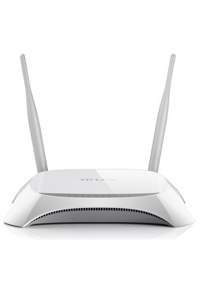 TP-LINK TL-MR3420 300Mbps N Kablosuz 4-Port 2x5dBi Değiştirilebilir Antenli Bağlantı Korumalı Denetlenebilir IP WPS 3G/4G Router