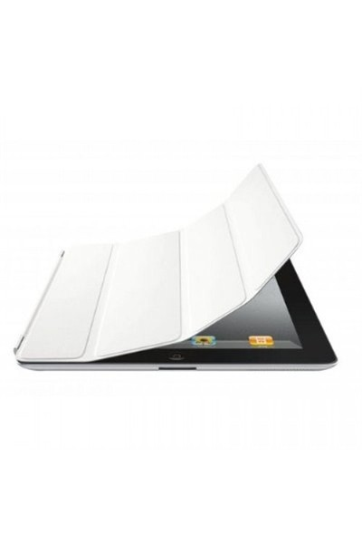 Casecrown iPad2/New iPad/iPad4 Beyaz Smart Cover Kılıf