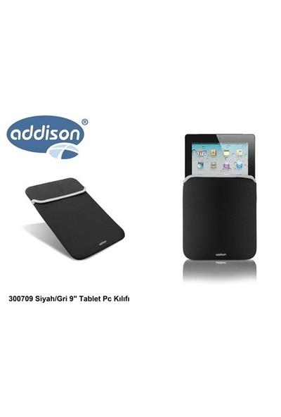 Addison 300709 Siyah/Gri 9` Tablet Pc Kılıfı
