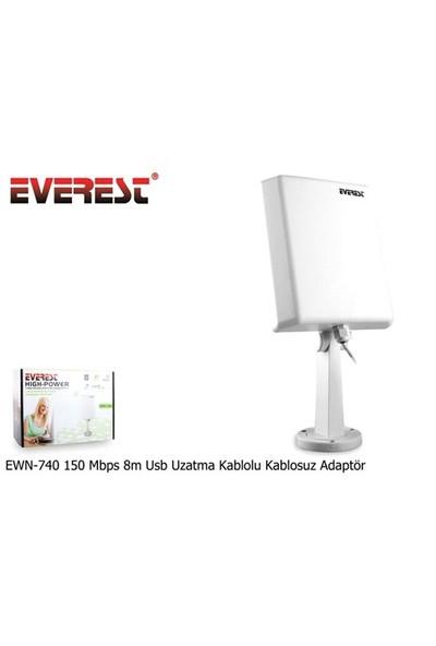 Everest Ewn-740 150 Mbps 8M Usb Uzatma Kablolu Kablosuz Adaptör