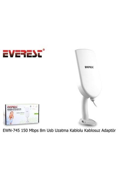 Everest Ewn-745 150 Mbps 8M Usb Uzatma Kablolu Kablosuz Adaptör