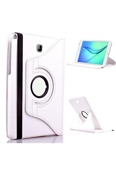 "Kılıfshop Samsung Galaxy Tab A Sm T350 8"" 360° Dönebilen Kılıf Beyaz"