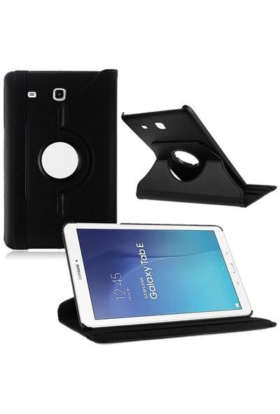"Kılıfshop Samsung Galaxy Tab E Sm T560 9.6"" 360° Dönebilen Kılıf Siyah"