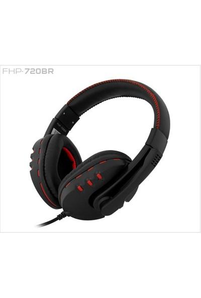 Frisby FHP-720BR Oyuncu Kulaklığı – Mikrofonlu