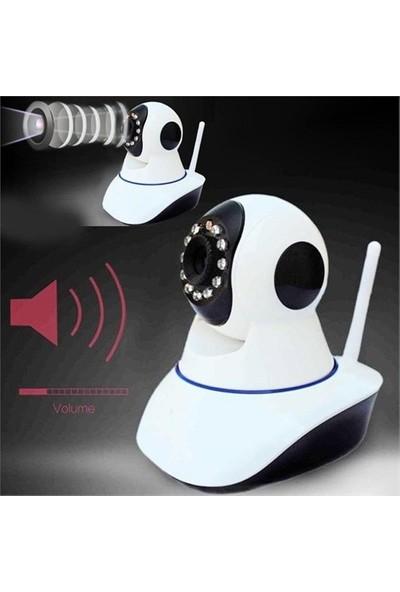 Kingboss Hd 360 Derece Hareket Sensörlü Ip Bebek Ve Güvenlik Kamerası